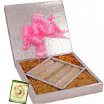 Perfect Gift Box - Kaju Katli 500 gms, Namkeen 500 gms