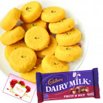 Treat Time - Kesar Penda, Cadbury Dairy Milk Fruit & Nut