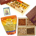 Your Gift - Kaju Mix, Assorted Dryfruits, 1 Haldiram Namkeen Pack