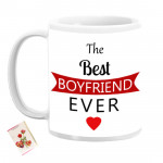 The Best Boyfriend Ever Personalized Mug & Card