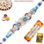 Premium Pearls & Bead Fancy Rakhi