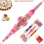 Beautiful Beads & Diamond Fancy Rakhi