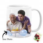 Number 1 Dad In The World Personalized Mug & Card