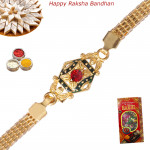 Awesome Gold Plated Rakhi