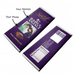 Personalized Dairy Milk Chocolate (Big - 160 grams) & Card