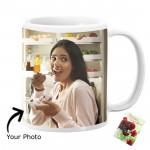 Happy Birthday Personalized White Mug & Card