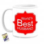 World's Best Husband Personalized Mug & Card