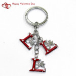 Love Keychain & Valentine Greeting Card