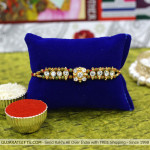 Diamond & Beads Mauli Rakhi