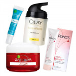 Complete Protection - Anti Wrinkle Cream + Olay Total Effects + Lightning Cream + Pimple Control Pen