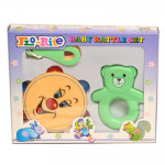 Flo-Rite Baby Rattle Set