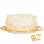 White Forest Cake 1/2 kg and Card