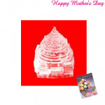 Crystal Sri Yantra - 15 gms and Card