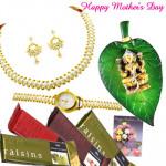 Shringar Set - Shringar Pearl Set, Laxmi on Leaf, 4 Temptations and Card