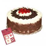 Black Forest Cake (Five Star Bakery) 1 Kg