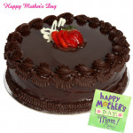 Five Star Treat - Five Star Chocolate Cake 1 kg and Card
