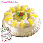 Five Star Gift - Five Star Pineapple Cake 1 kg and Card