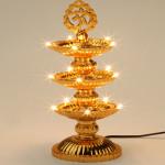 15 Lights Om Diya