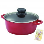 Prestige Omega Die-Cast Casserole 200 mm with Lid