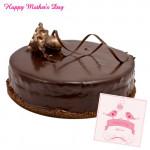 Chocolate Cake - Chocolate Cake 1/2kg and Card