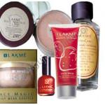 Lakme Hamper - 4 - Nail Polish + Nail Remover + Daily Wear Shuffle + Face Was + Rose Powder