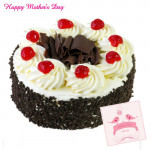 Black Forest Cake - Black Forest Cake 1 Kg and Card