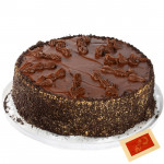 Chocolate Truffle Cake 1/2 kg and Card