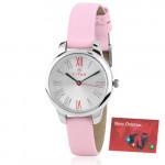 Titan Analog Pink Watch