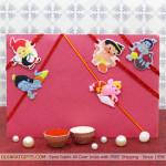 Set of 5 Rakhis - Set of Five Kids Rakhi