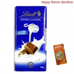 Lindt Swiss Milk Chocolate (Rakhi & Tika NOT Included)