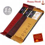 Temptations - 3 Cadbury Temptations with Laxmi-Ganesha Coin