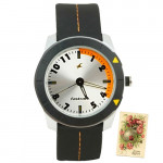 Fastrack Analog Watch Silver Dial