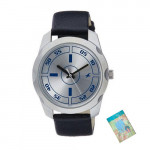 Fastrack Casual Analog Silver Dial