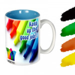 Colored Mugs & Card