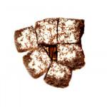 Mocha Coconut Brownies