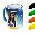 Customized Colored Mug & Card