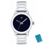 Fastrack Monochrome Analog Blue Dial