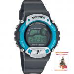Sonata Digital Watch Grey Dial