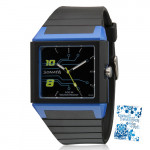 Sonata Digital Watch Black Strap Black Dial
