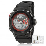 Sonata Digital Watch Black Strap