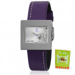 Sonata Analog Purple Watch
