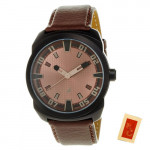 Fastrack Sports Analog Brown Dial