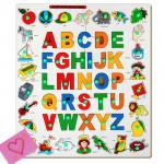 Alphabet Object Match up Puzzle