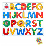 Alphabet Picture Tray with Knob
