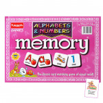 Funskool Alphabets and Numbers Memory