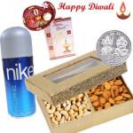 Always with You - Nike Deo, Kaju & Badam with Bhaidooj Tikka and Laxmi-Ganesha Coin