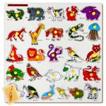 Animal Alphabet Picture Puzzle