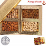 Assorted Dryfruits with Laxmi-Ganesha Coin