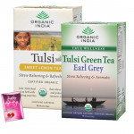 Assorted Tea Bags - Set of 2 Tulsi Tea Bags and Card