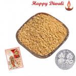 Bikaneri Sev - Bikaneri Sev 250 gms with Laxmi-Ganesha Coin